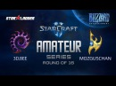 Amateur Series Round of 16: 3D.Bee (Z) vs MozgusChan (P)