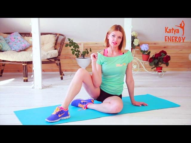 Тренировка для бедра сзади, ягодиц, спины и шеи