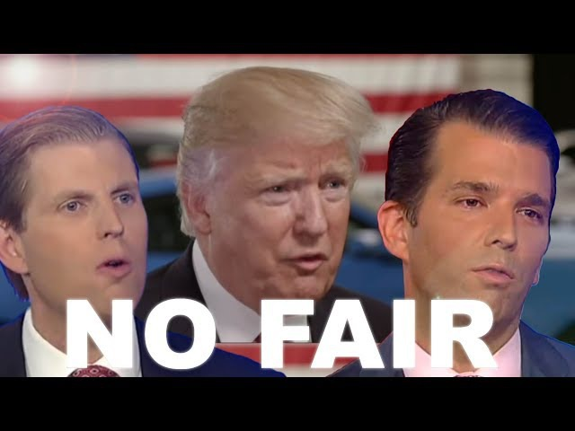 NO FAIR - Trump ft. Eric Don Jr. | Songify This