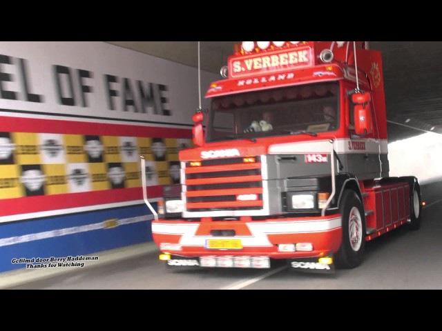 V8 Scania's of S Verbeek Transport at Truckstar Festival 2016