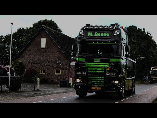 Best of DAF exhaust sounds compilation