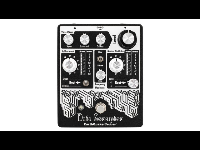 EarthQuaker Devices Data Corrupter Modulated Monophonic Harmonizing PLL Demo