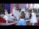 Красивый танец снежинки с тканью дет/сад №94, старшая группа