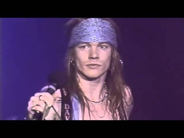 Guns N' Roses Knock' On Heaven's Door - live at The Ritz 1988