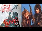 Ozzy Osbourne - Crazy Train - Live 1991 - with Zakk Wylde on guitar