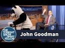 John Goodman Gets a Hashtag the Panda Pedicab Ride