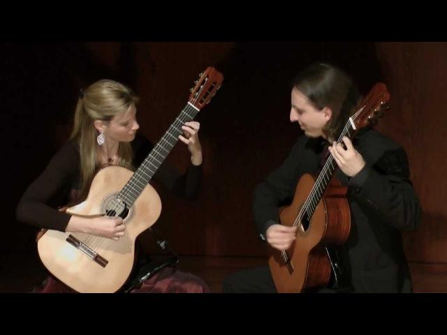 Guitar Duo KM - Concerto BWV 972, I. Allegro, J.S. Bach