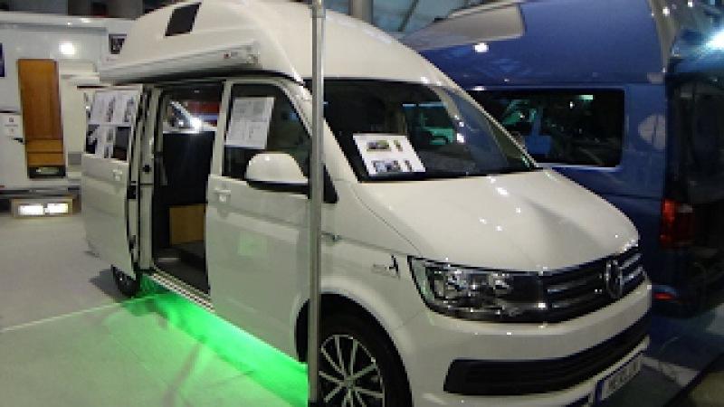 2017 Dipa Merlin Comfortline Volkswagen T6 -Exterior and Interior - Caravan Show CMT Stuttgart 2017