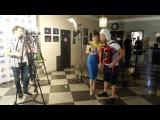 Экс-участник Дом 2 Семён Фролов готовиться к интервью для МУЗ ТВ