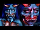 POP ART DEMON | Halloween Costume Makeup Tutorial | w/ Jordan Hanz | RawBeautyKristi