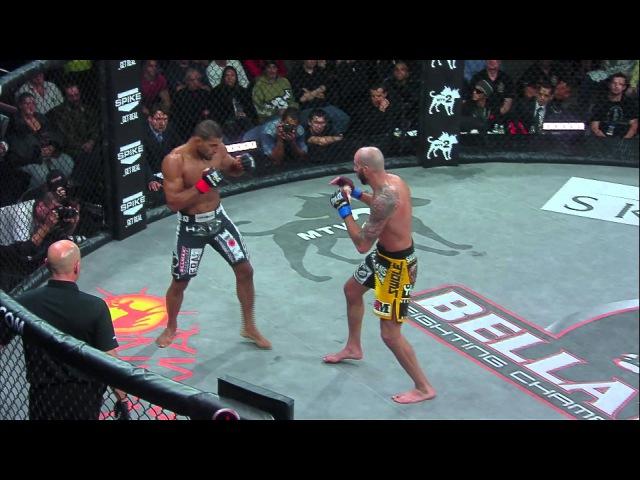 Bellator MMA Moment Douglas Lima KOs Ben Saunders