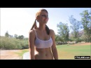 Teen Sexy Personal Trainer Workout