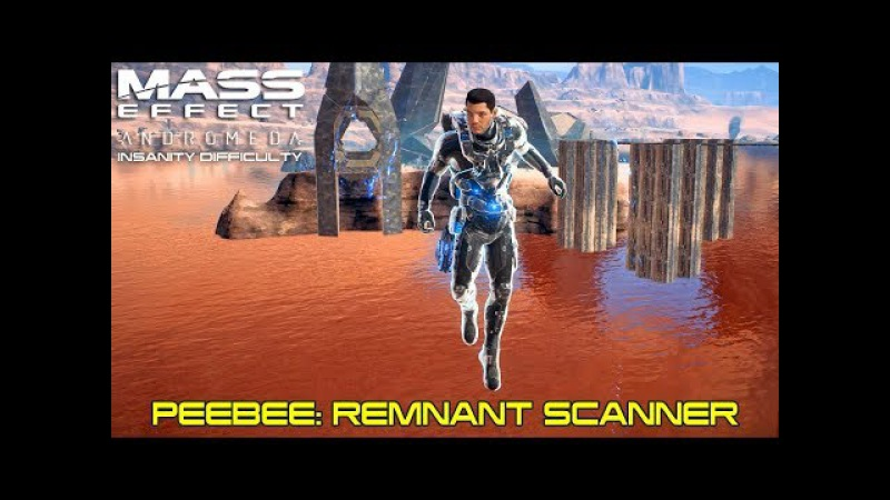 Mass Effect Andromeda - Allies and Relationships - Peebee: Remnant Scanner - Insanity Difficulty