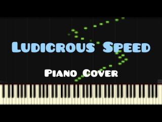 F-777 — Ludicrous Speed (Piano Cover)