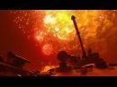 Танковый бой в темноте огненные кадры ночного динамического показа на «Армии-2017»