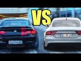 BMW M6 vs Audi RS7 vs Mercedes CLS63 AMG - Accelerations &amp Exhaust Sounds!