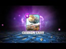 Clash Royale: THE CANNON CART! (New Clash Royale Card!)