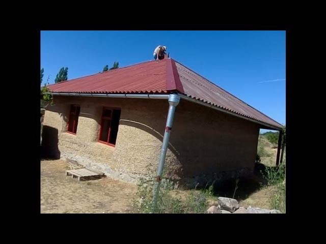 Новый дом из самана 🏡 строим своими руками 👐 в поместьи Пелых Ясная даль Сокольники