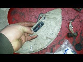 2. Замена колодок и тросов ручника на SsangYongActyon Sports2009 года.