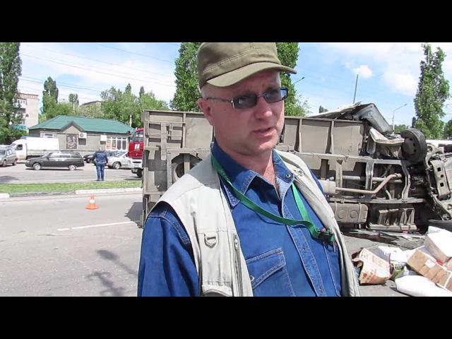 Очевидец рассказывает о ДТП в Балаково на Саратовском шоссе