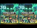 3D VR box TV Minecraft Story Mode S 2 video Side by Side SBS