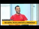 Tibi Uşeriu şi a spus povestea la România9 @TVR1