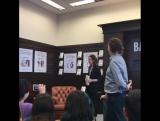 11.03.2017  Презентация книги Без фильтра в книжном магазине Barnes &amp Noble