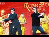 "Танец Джеки Чана и Аарифа Рахмана на пресс-конференции фильма ""Кунг-фу йога"""