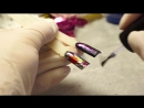Яркие и Быстрые Дизайны Ногтей. Фольга для Литья и Хлопья Юки в Маникюре