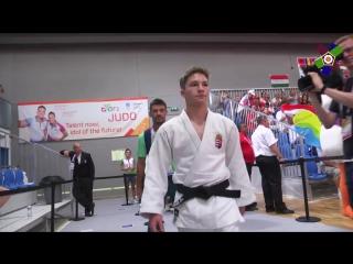 Дзюдо European Olympic Youth Festival 2017 EYOF Györ - Highlights Day 1