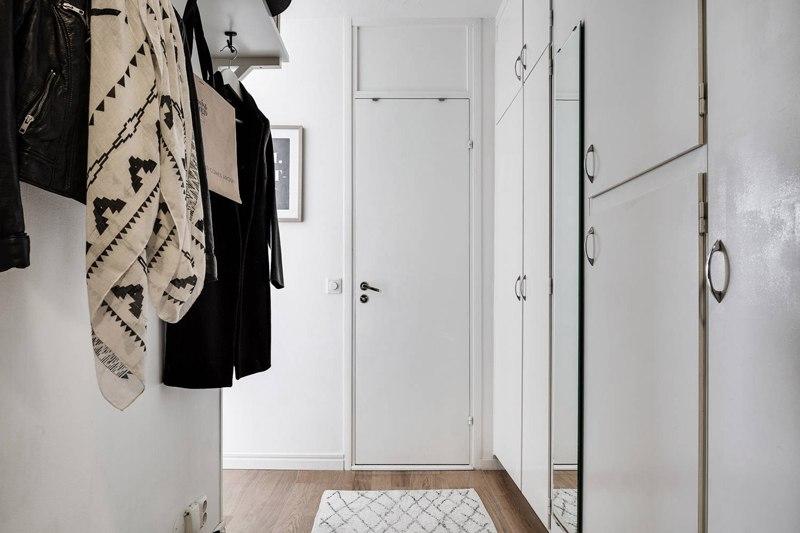 Скандинавский интерьер: квартира-студия 30 м.