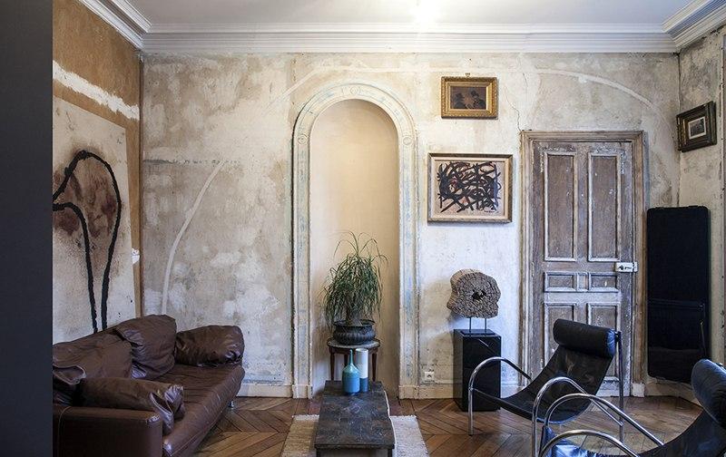 Квартира-студия 32 м в Париже.