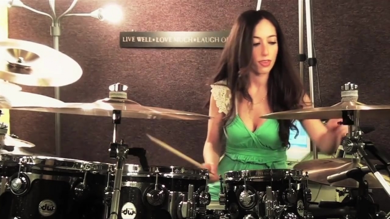 AVENGED SEVENFOLD - NIGHTMARE - DRUM COVER BY MEYTAL COHEN