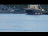 Красивое всплытие русской подлодки