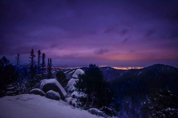 Закат на Столбах Нравится фото ? Ставь ❤