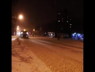 Как в Одессе чистят дороги