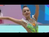 Дина Аверина - булавы (финал) // Гран-при Холон 2017