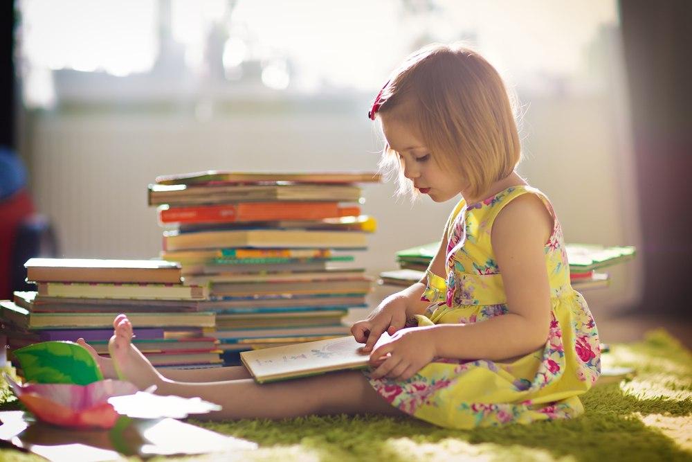 Діти читають. Інтерес сучасного покоління до книг