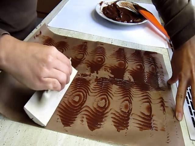Ako ozdobiť tortu - čokoláda okraj/ chocolate decoration/ 2.časť
