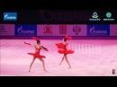 Арина и Дина Аверины показательное - Гран-при Москва 2016