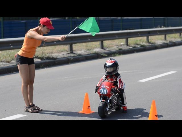Baby Biker: 2-4 Year-Old Has Insane Motorcycle Skills Tima Kuleshov
