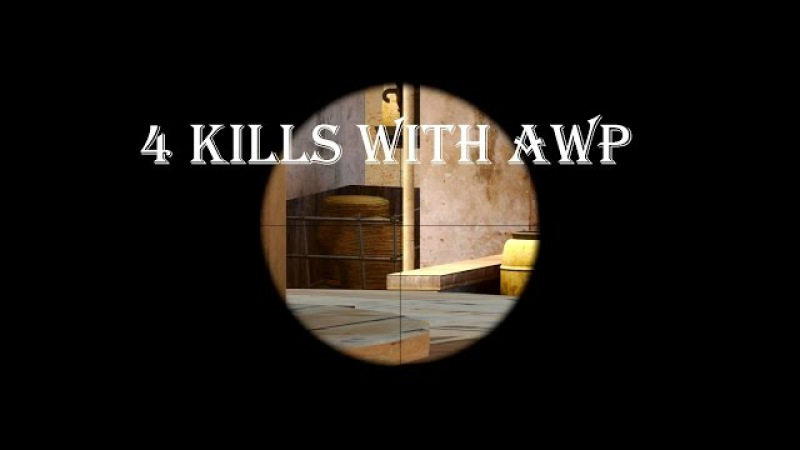 MOVIE CS GO:Lak1 4 kills with awp