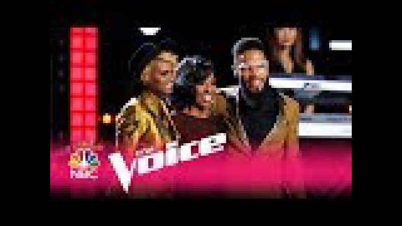 The Voice 2017 Gladys Knight, Vanessa Ferguson TSoul: Song Medley