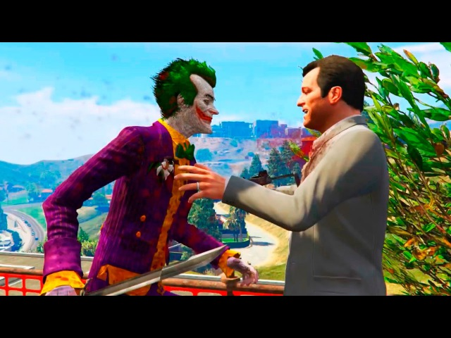 GTA 5 Funny Brutal Moments Compilation 40 (GTA V Joker Mod)