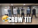 RUS SUB BTS `Crow tit` Dance Practice Fun ver.