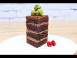 Шоколадный Бисквитный Торт Вкуснейший  Chocolate Sponge Cake