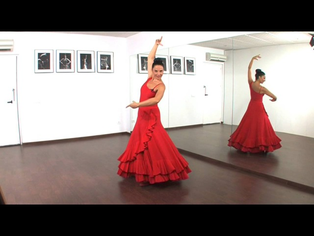Dos giros básicos en el baile flamenco