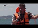 Специальный репортаж с борта пограничного катера. Крымский мост. Азовское море