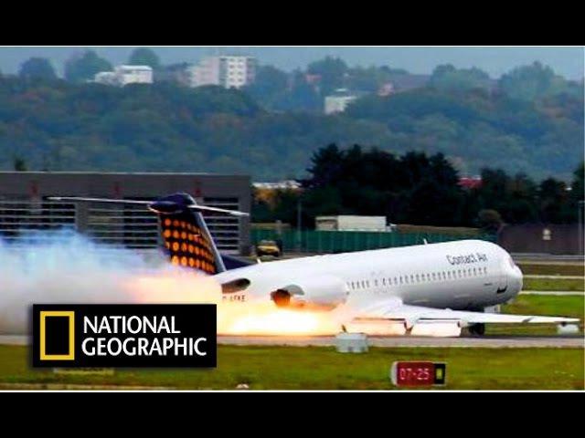 Самолет совершил страшную аварийную посадку. Секунды до катастрофы. National Geographic HD