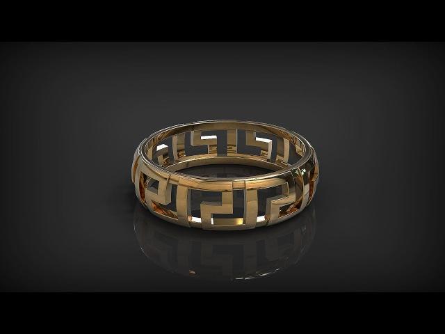 Простое кольцо в программе Rhino. Easy Ring in Rhinoceros. 2.